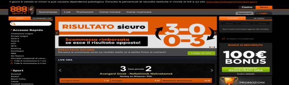 888sport.it recensione